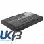 Replacement Battery Batteries For NEVO UEI NEVOC3 CS MF603RC