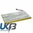 Replacement Battery Batteries For NAUTIZ X3 CS NTX300BL