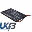 Replacement Battery Batteries For NAUTIZ J62510N0272 CS NTX500BL