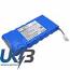 Replacement Battery Batteries For TEKLOGIX 7035 CS PT7035BL