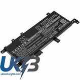 Replacement Battery Batteries For Asus  X542UN-DM087T CS AUX542NB