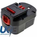 Replacement Battery Batteries For Black & Decker  BPT1047 CS BPS712PH