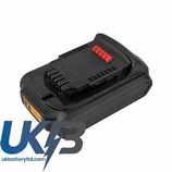 Replacement Battery Batteries For Dewalt  DCB181-XJ CS DEC181PW