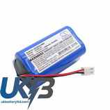 Replacement Battery Batteries For CMICS DJDB CS ECG120MX
