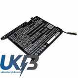 Replacement Battery Batteries For HP  Pro Tablet 10 EE G1(N4L95PA) CS HPT833SL