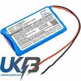Replacement Battery Batteries For JBL  Micro Wireless 2013 CS JMM100SL