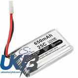 Replacement Battery For JJRC H5C H9D