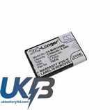 Replacement Battery Batteries For MOBI 70216 CS MXR100MB