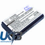 Replacement Battery Batteries For Philips AB1750AWMT CS PHE380SL