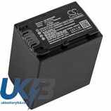 Replacement Battery Batteries For Sony  FDR-AX60 CS SDX600MX