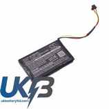Replacement Battery Batteries For TOMTOM P6 CS TMG610SL