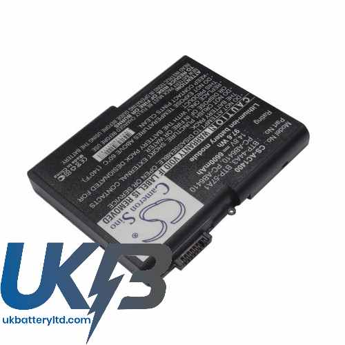 Replacement Battery Batteries For FUJITSU Amilo D6800 CS AC1400