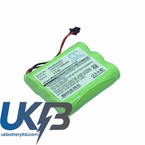 Replacement Battery Batteries For MBO CT1100 CS ADL930CL