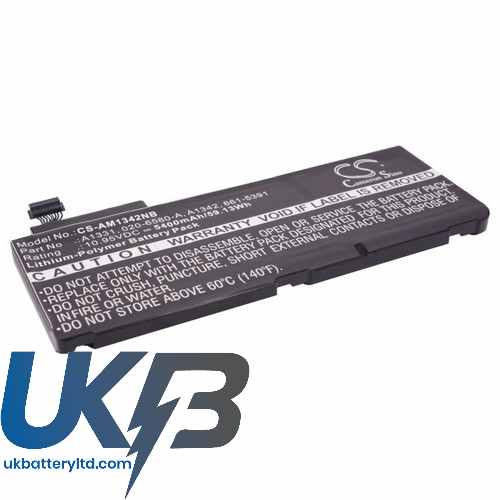 Replacement Battery Batteries For APPLE 020 6580 A CS AM1342NB