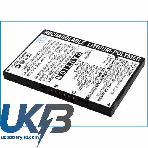 Replacement Battery For Qtek 35H00060-00M 35H00060-01M 35H00060-04M 9600