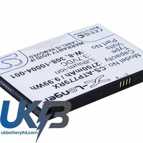 Replacement Battery Batteries For NETGEAR AC790S CS ATP779RX
