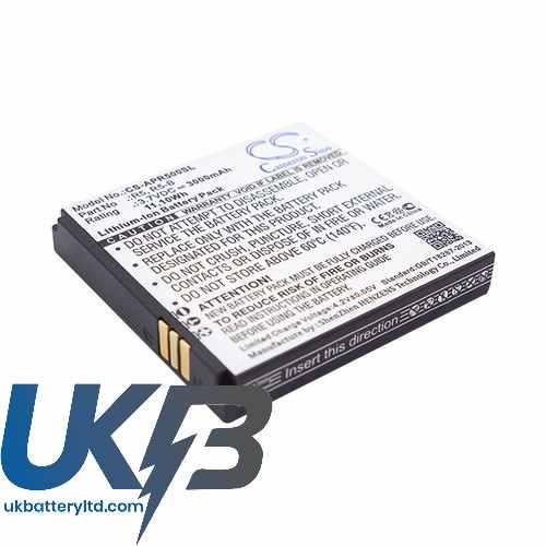 Replacement Battery Batteries For ARCHOS 45 Platinum CS AVP450SL