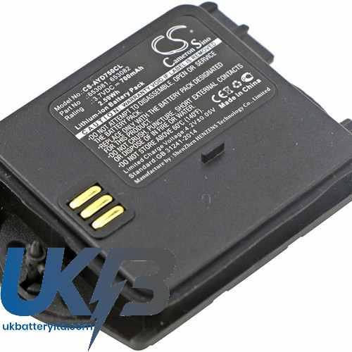 Replacement Battery Batteries For ASCOM Talker 9D24 MKI CS AYD750CL