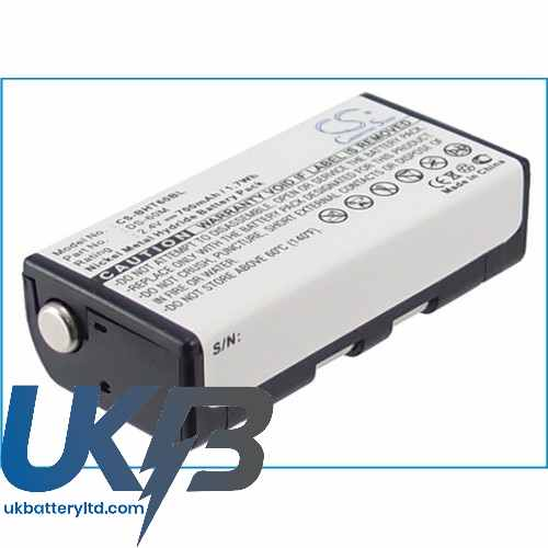 Replacement Battery Batteries For DENSO BHT8000 CS BHT60BL