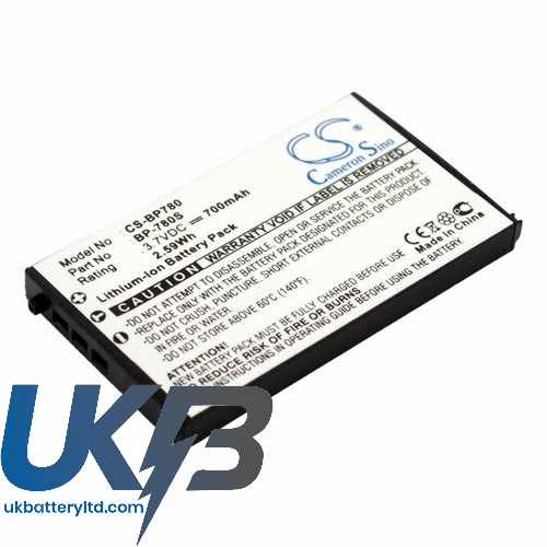 Replacement Battery For Kyocera BP-780S CONTAX SL300RT Finecam SL300R SL400R
