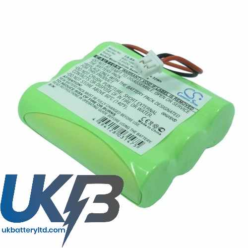 Replacement Battery Batteries For RADIX City40 CS BSC10RC