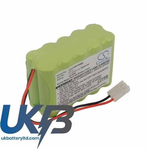 Replacement Battery Batteries For CARDIETTE 6113 CS CAR120MD