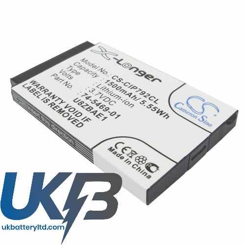 Replacement Battery Batteries For CISCO 7026G CS CIP792CL