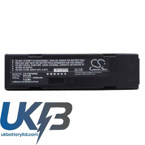 Replacement Battery Batteries For CINO F780BT CS CNF680BL