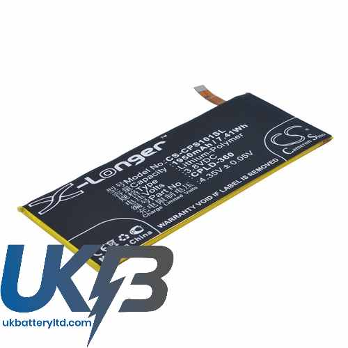 Replacement Battery Batteries For COOLPAD SS1 01 CS CPS101SL