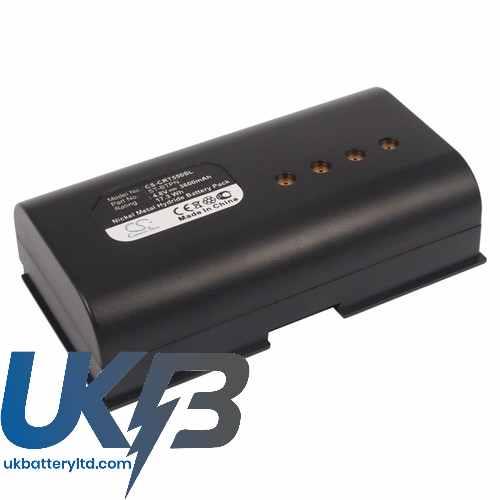 Replacement Battery Batteries For CRESTRON ST 1500C CS CRT550SL