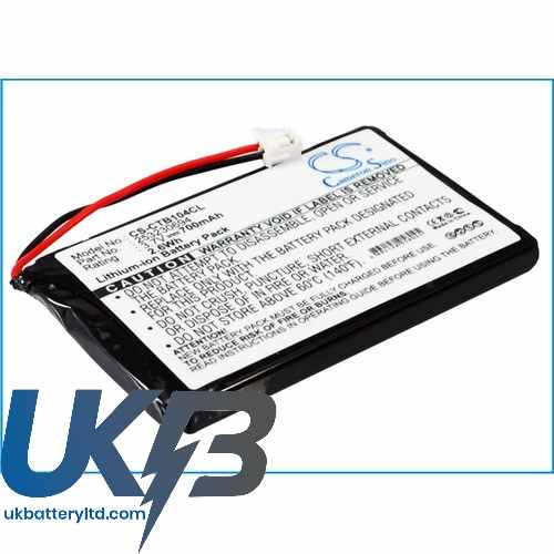 Replacement Battery Batteries For SAGEM 690 CS CTB104CL