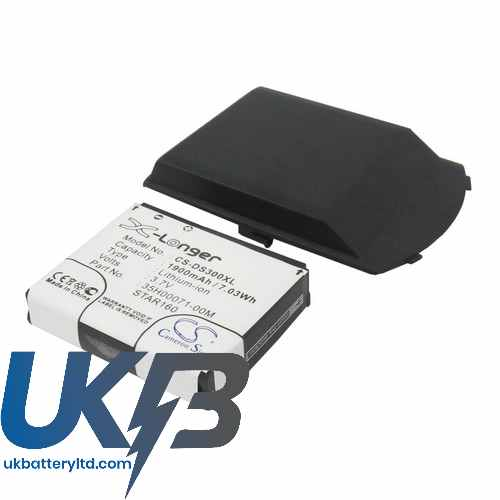 Replacement Battery Batteries For QTEK 8500 CS DS300XL