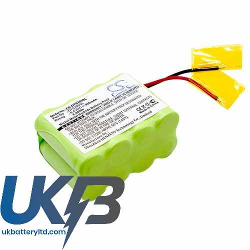 Replacement Battery Batteries For DT SYSTEMS DT300 Transmitter CS DTS300SL