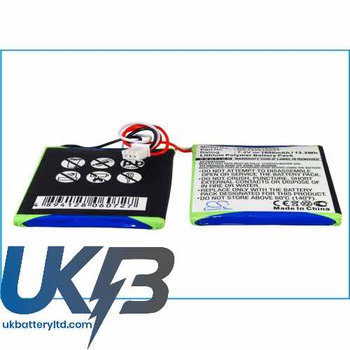 Replacement Battery Batteries For DUAL DVD P702 CS DVP702SL