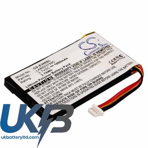 Replacement Battery Batteries For TOSHIBA Genio E300 CS E300SL