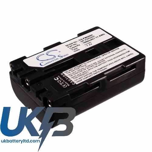 Replacement Battery Batteries For SONY Alpha DSLR A850B CS FM500H