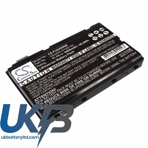 Replacement Battery Batteries For FUJITSU 3S4400 S3S6 07 CS FU2450NB