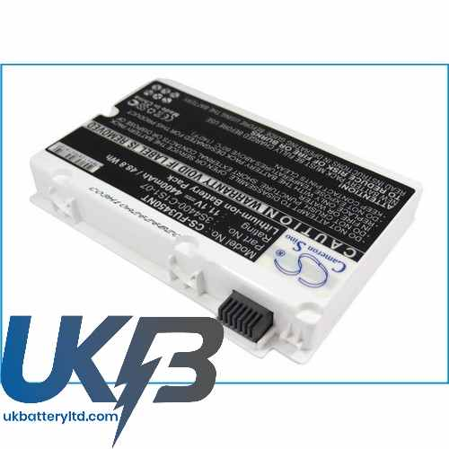 Replacement Battery Batteries For FUJITSU 3S4400 G1L3 07 CS FU3450NT
