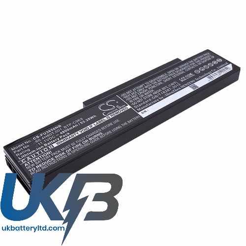 Replacement Battery Batteries For FUJITSU 60.4H80T.021 CS FU3650NB