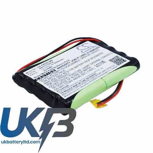 Replacement Battery Batteries For FUKUDA 120279 CS FXE501MD