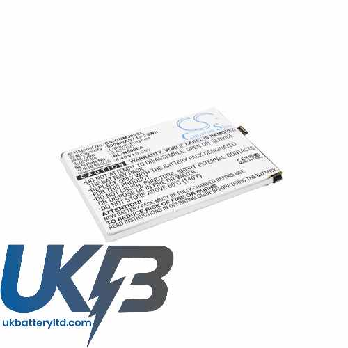 Replacement Battery Batteries For GIONEE BL N5000A CS GNM300SL