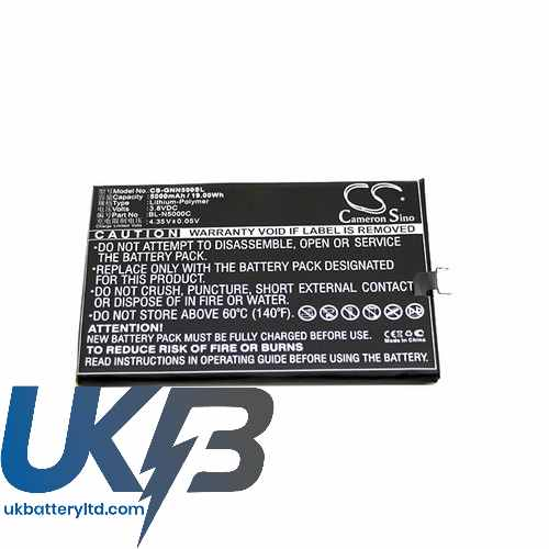 Replacement Battery Batteries For GIONEE BL N5000C CS GNN500SL