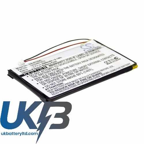Replacement Battery Batteries For IRIVER H140 CS H110XL