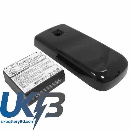 Replacement Battery For HTC 35H00119-00M BA S350 SAPP160 A6161 Magic Pioneer