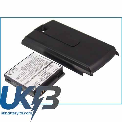 Replacement Battery For HTC 35H00113-003 DIAM160 Touch Diamond P3051 P3701 P3702