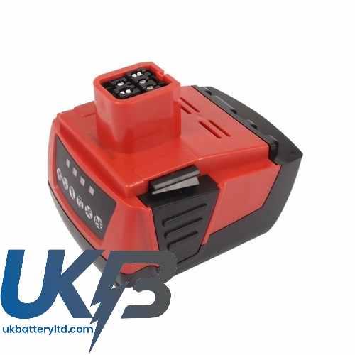 Replacement Battery Batteries For HILTI SFL Flashlight CS HFB144PW