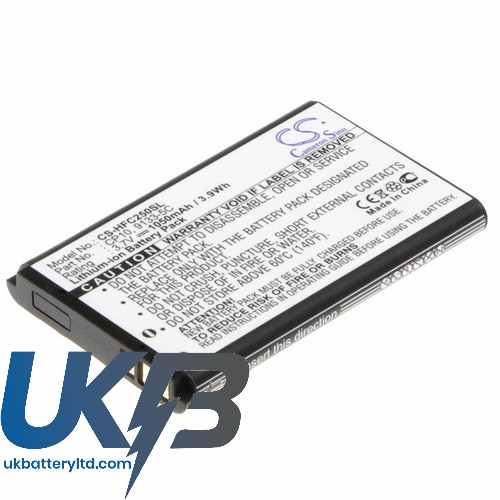 Replacement Battery Batteries For M LIFE ML0262 CS HFC250SL