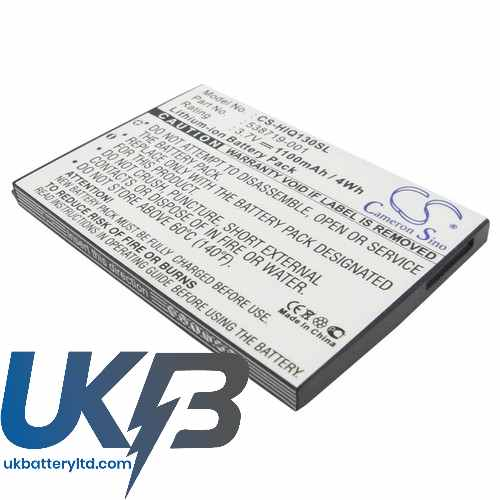 Replacement Battery Batteries For HP 538722 001 CS HIQ130SL