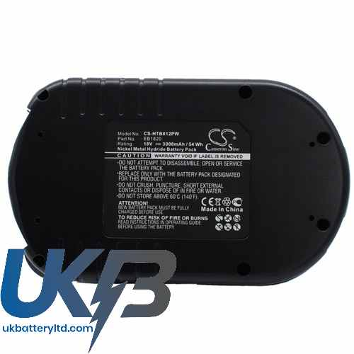 Replacement Battery Batteries For HITACHI C18DMR CS HTB812PW