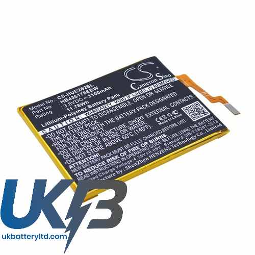 Replacement Battery Batteries For HUAWEI CRR CL20 CS HUE262SL